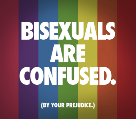 Bisexuals are confused