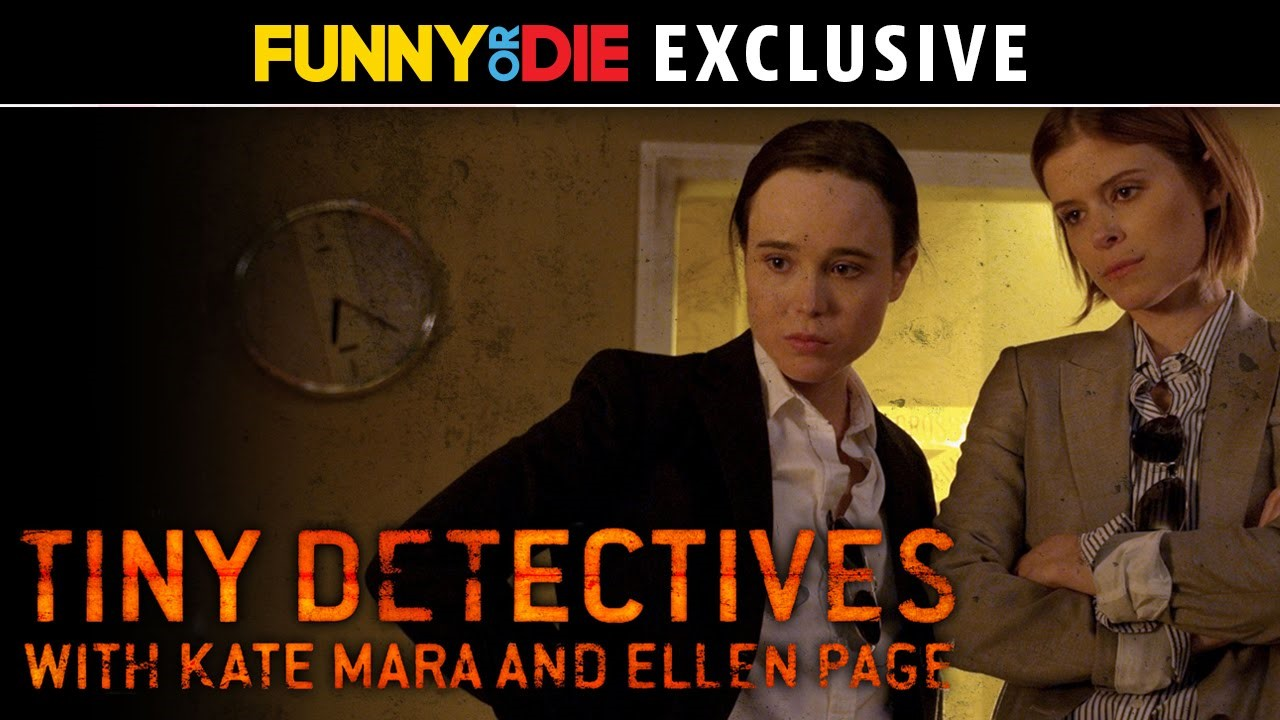 Tiny Detectives starring Ellen Page