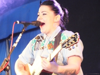 Lucy Spraggan at Brighton Pride