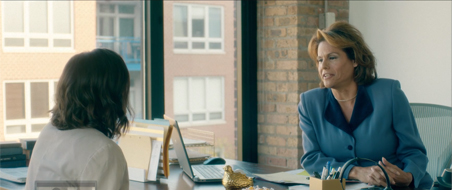 Lisa Cordelione and Alexandra Billings in Freelancers Anonymous