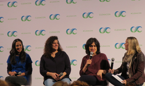I Can't Think Straight panel at Clexacon