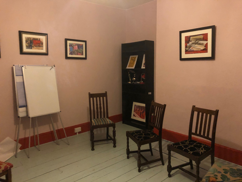 The Red Room at The Apple Tree