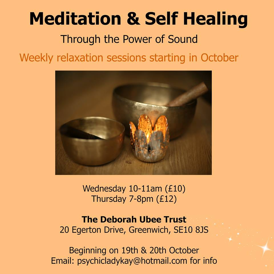 Meditation and Self Healing through the power of sound