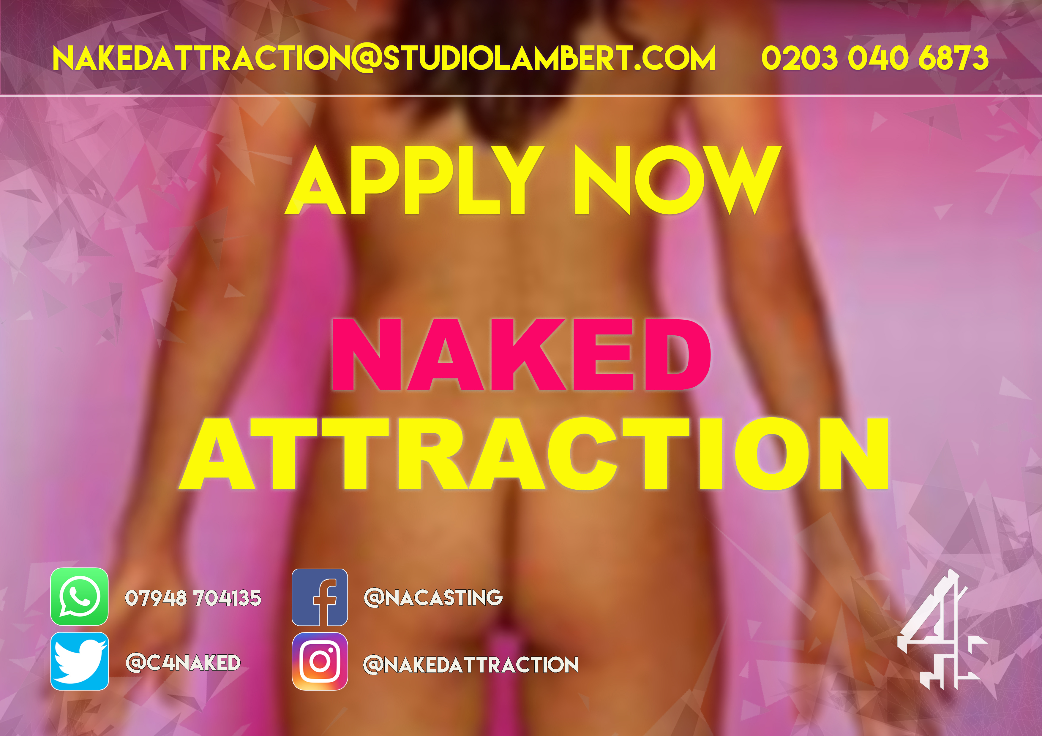 Naked Attraction Flyer