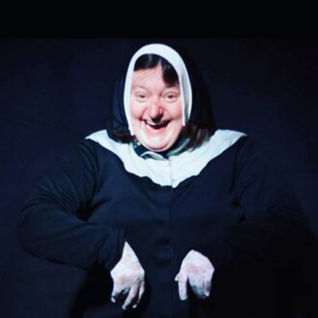 Ginny Pollard Evans as a Sister in Sunday Service