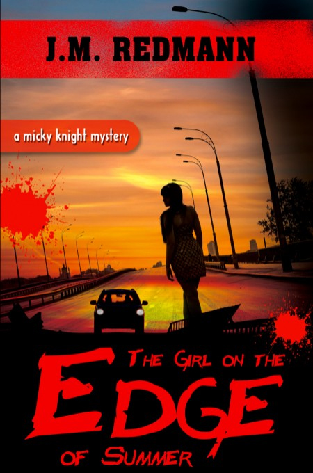 The Girl on the Edge of Summer Book Cover